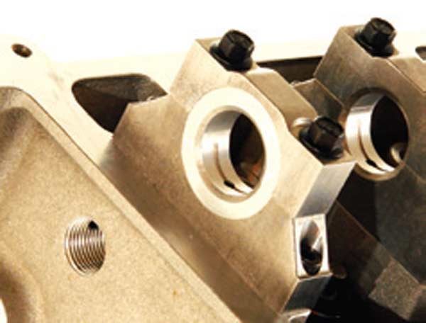 Fig. 5.22. Another asset of the TFS head is replaceable bearing shells for the cam.