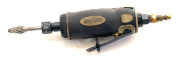 Fig. 6.5. In 2009 I bought this air die grinder for $22. It  has been lubed with BND oil and is still in fine shape as of 2012.