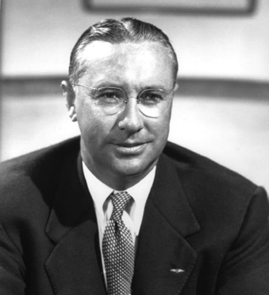 Cliff Garrett, founder of the Garrett Corporation, which today is known as Honeywell Turbo Technologies, manufacturer of Garrett brand turbochargers. (Courtesy Honeywell Turbo Technologies)