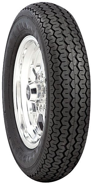 This Mickey Thompson DOT-approved front tire offers minimal rolling resistance and an aerodynamic shape. Don't expect it to handle well on hard corners though.