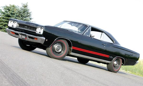 The 1968 Plymouth GTX 440 made 375 gross hp and was considered state of the art for its time. In reality, this engine has a specific output of 0.85 hp per cubic inch and would fail modern emissions tests miserably. (Nate Tovey)