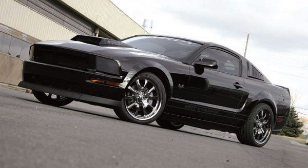"""20)The MRT """"Interceptor"""" was one of the first supercharged ETC-equipped Mustangs to be displayed at the SEMA show. (Nate Tovey)"""