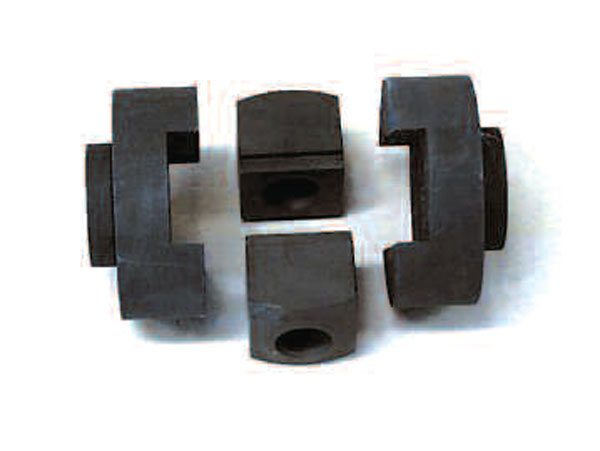 The block-style mini-spool kit replaces the internal gears of an open differential. While this kit reuses the factory-style C-washers to retain the axle shafts, it is possible but not recommended to do this. Instead, C-clip eliminators are strongly recommended. (Auburn Gear)
