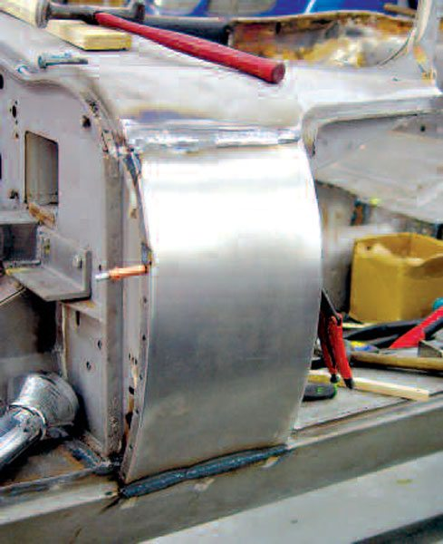 When you make new metal for a panel like this E-Type Jaguar cowl section, there are plenty of things to worry about without having to wonder if the metal is high-quality material.