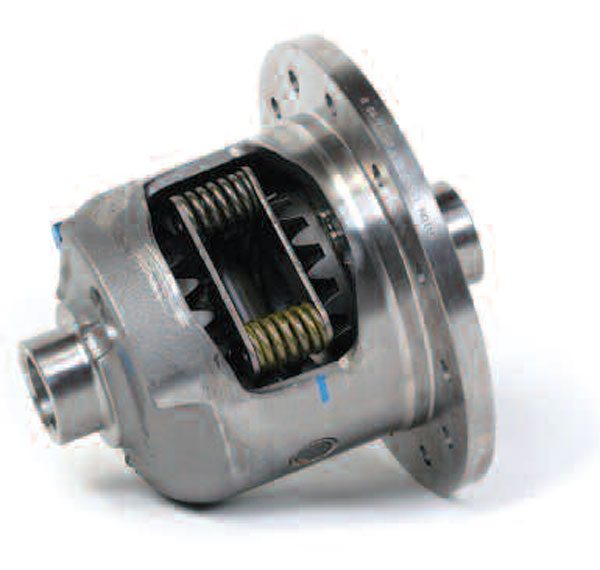 The GM-style limited-slip differentials use four compression springs as opposed to the single S-style spring Ford uses. Eaton builds these differentials both as factory-installed and aftermarket units.