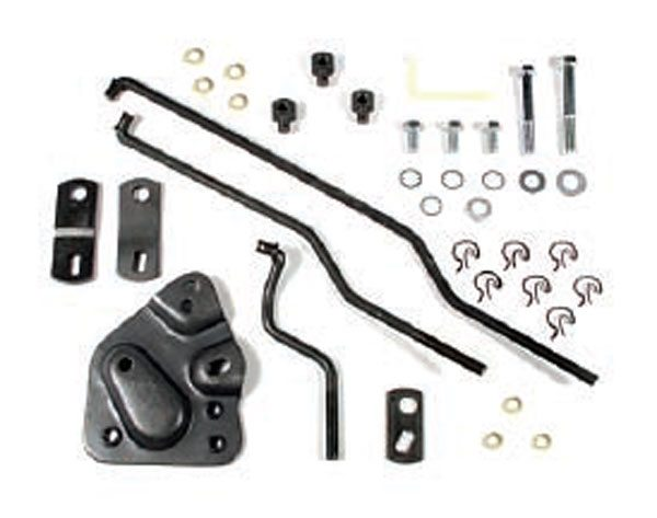 Hurst Shifters have a vast number of installation kits for just about every side-mounted 3- and 4-speed shifter.