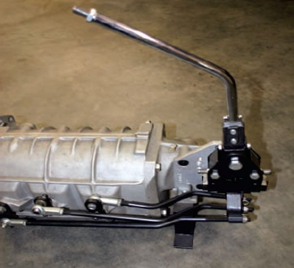 Here is a Long HN-1000 H-Pattern shifter designed for a Cobra kit car and bolted to a Richmond 5-speed.