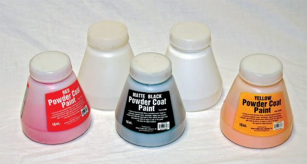 Harbor Freight powders cost a lot less than others but lack the coverage and the depth and strength of color that others offer. It's good to keep some around for parts where color matching is not critical and low-cost coating is desired.