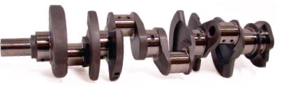 Whether to use twisted or non-twisted forgings is still debated. Many builders have good luck with both, but non-twisted forgings are commonly preferred for high-load applications running extreme engine speeds. (Courtesy Scat Enterprises)