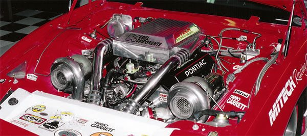 F.A.S.T. electronic fuel injection provided the fueling con¬sistency to propel this 369-ci Mike LeFevers-built turbo¬charged small-block Pontiac Firebird to a 300-mph record at Bonneville with Joe Kugel at the wheel.