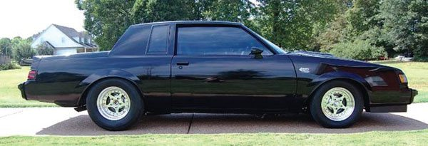 Like GM A-body cars, G-bodies are often thought of as just drag cars. This is especially true of the Buick Grand National turbo V-6 cars. This is funny because they can be some of the best handling of all the G-bodies. (Photo Courtesy W. Wilkerson)