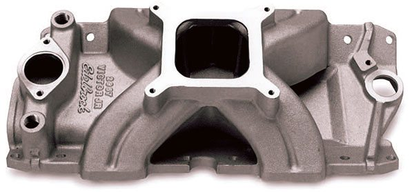 Single-plane 4-barrel intakes are a staple of contemporary sportsman drag racing. They are inexpensive and provide superior power and performance in a high-RPM drag rac¬ing environment.