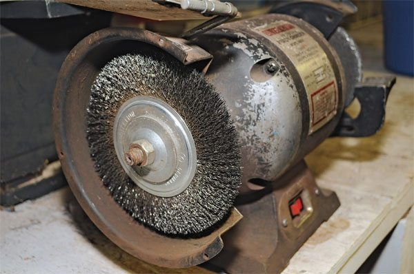 83 Bench Grinder Buffing Wheel
