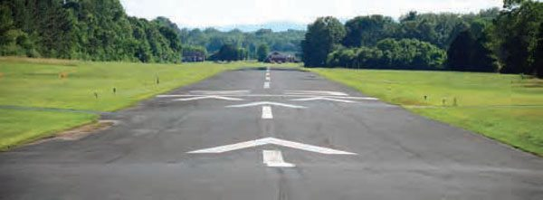 After the drag strip operation moved to Ringgold, Georgia, in 1964, the giant strip of pavement was converted into a small airport—Dallas Bay Skypark. The beautiful piece of property doesn't have any drag racing artifacts on it, but the underlying pavement definitely has a story to tell.