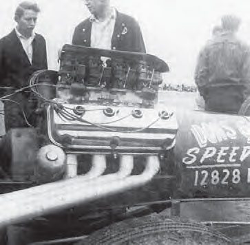 Don Garlits was a pioneer in the sport of drag racing, and he campaigned a fuel dragster for many years. This is the Swamp Rat I, and it was simple by design, but struck fear in the hearts of competitors. Garlits later ditched the multiple carburetors and went with a Roots blower and mechanical fuel injection. (Photo Courtesy Larry Rose Collection)