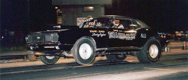 Dave Billingsley is seen here launching hard at Motion Raceway. His 1967 Camaro is a perfect example of a Midwestern drag car from the 1970s. It had all the cool stuff—Centerline wheels, Firestone slicks, a square-snorkel hood scoop, and a funky paint job. The Midwest was doorslammer heaven in the 1970s. (Photo Courtesy Steve Jackson)