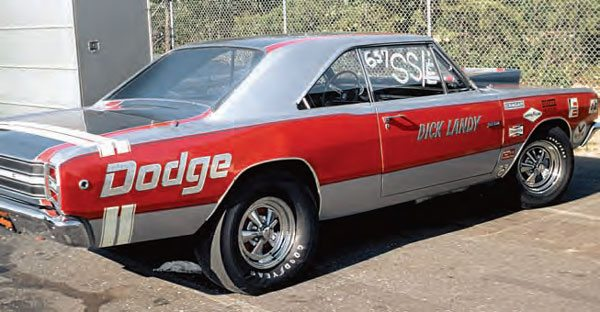 """With the Super Stock class growing in popularity, many racers received great support from the manufacturers, in the form of factory drag cars. The """"race on Sunday, sell on Monday"""" attitude was in full force during the 1960s when racers such as """"Dandy"""" Dick Landy campaigned factory drag cars. (Photo Courtesy Bob Snyder)"""