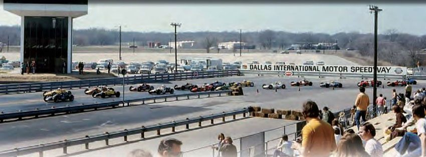 Dallas International Motor Speedway looked to be a major player in the drag racing and road racing world, but a terrible string of bad luck left it in sad shape shortly after its grand opening. During its good times, the track was one of the greats, but the good times just didn't last. (Photo Courtesy David Graves)