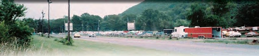 Green Valley continued to be a great place to race until the 1980s when it was shut down. It was successfully revived, and continued until 1997. The remains of the track are now used as a parking area for Green Valley Speedway, the neighboring dirt track that continues to have a great following. (Photo Courtesy Wayne Holland)