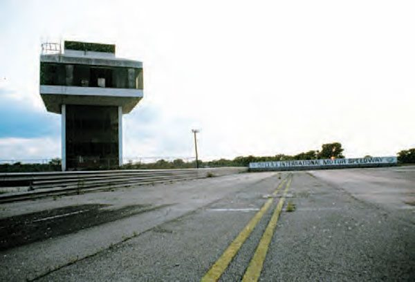 A fatal accident, as well as a number of rained-out events and all-around bad luck, sent Dallas International Motor Speedway into a downward spiral. The track was only open a total of four years, proving that big investments do not always yield big results. (Photo Courtesy David Graves)