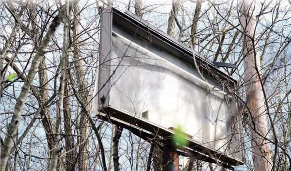 One of the old scoreboards is still standing on the right side of the track. Most artifacts on the left side of the track were disposed of during construction of a park, leaving the right side as it was when the track closed in 1992 due to the property being annexed into the city of Charlotte.