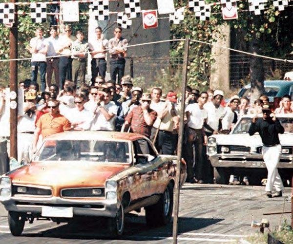 Yellow River Drag Strip was the site of an accident that changed drag racing history. Huston Platt's Dixie Twister crashed at the top end, killing twelve spectators and injuring many more. This unfortunate event encouraged lawmakers to create guidelines for drag strips, which forced many outlaw tracks out of business. (Photo Courtesy Fred Simmons)