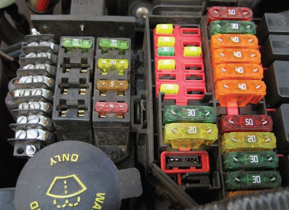 automotive ignition switches wiring harnesses and controllers this eight circuit atc fuse panel on the left is yet another example of an