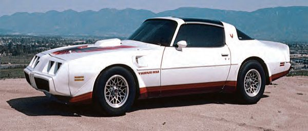 A 406 (6.65 L) Chevy small-block powers my 1980 Pontiac Trans-Am. The 550- hp engine utilizes a highly modified Holley flowing about 1,020 cfm. The editor of Motor magazine tested the car and as seen here it delivered 0-120 mph in 12.5 seconds along with perfect street manners.