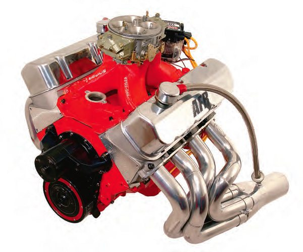 I built this 505 a few years back, and it made 721 hp and 710 ft-lbs with a 650-rpm idle on pump gas. My carb of choice was a Dominator, which in this case was detailed out and flowed about 1,080 cfm.