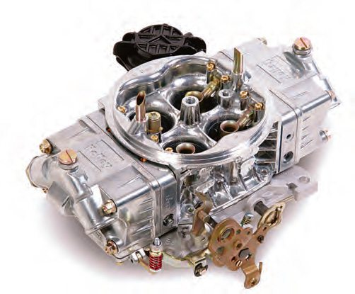 Make no mistake, this Holley 750 Ultra Street is a no-holds-barred high-performance carb. Note that it has vacuum secondary barrels! I have run several of these on the dyno and at the track, and they perform excellently.