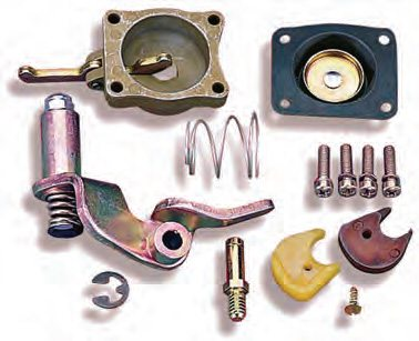 convert a 30-cc pump to a 50-cc pump, you need this Holley conversion kit (PN 20-11).