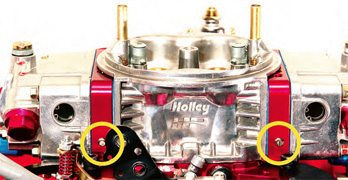 Holley Carburetor: Idle and Transition Circuit Calibration Guide