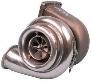 A turbocharger uses exhaust gases to pressurize the intake system. Turbos generate heat so heat management is a top priority because excessive heat robs an engine of power.