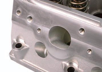 Ideally, the primary tube entrance matches the size and shape of the cylinder head's exhaust port. In practical terms, it's vital that the primary tube ID is the same size or a tad larger than the exhaust port. The point is to avoid obstructing the flow from the exhaust port.