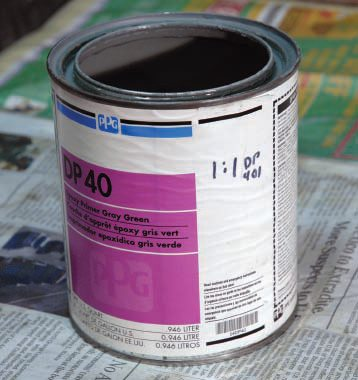 "Not too long ago automotive paint cans had mixing and spraying directions printed on the label—even easily read diagrams. Not any more. Now you have to get a ""tech sheet"" to go with the specific paint, and they are hard to store, easy to lose, and even harder to decipher. It's much easier to write mixing proportions right on the can, with a marker, when you get it."
