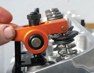 With the target cam lobe at its base circle (with the lifter on the base circle), adjust the valve lash to spec.