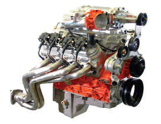 Here is a prime example of fuel injection being put to good use. This intercooled, Magnuson super-charged 6-liter LS6 Chevy had to meet emissions as well as make big numbers on the dyno. It did, and the injection system played a vital role in achieving that goal.