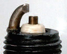 Here is an Autolite plug I prepped for one of my engines. Follow this form, and you won't go wrong.