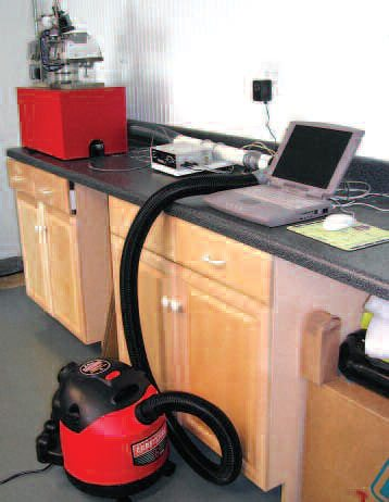 If you want to upgrade a bench, it can be done for a lot less than you may think. Here the Audie Technology Flow Quick setup is being tested. Essentially, this is a computerized, instrumented version of the floating-pressure bench detailed earlier. For full details on this bench go to www.motortecmagazine.com