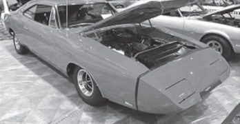 Was the Charger Daytona's aero package just visual fl uff or did it work?