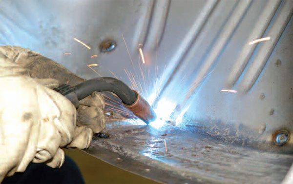 Automotive Bodywork How To Weld Body Metal