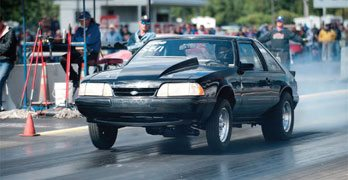 Drag Racing Traction: Front Suspension: Single A-Arm