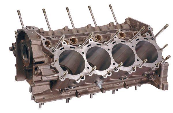 Chevrolet Sprint Cup R07 block. (Courtesy General Motors)