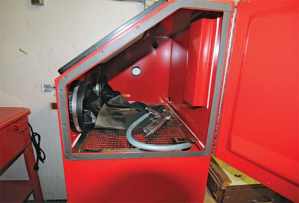 Harbor Freight Blast Cabinet Review Ar15 Com Powder Coating Mechanical  Parts Cleaning Guide
