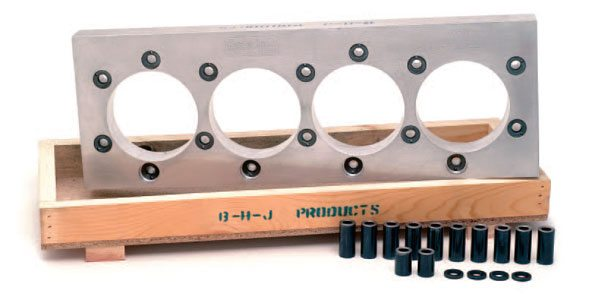 BHJ honing plates are the standard of the industry. The company offers a broad line of plates specifically designed for racing applications.