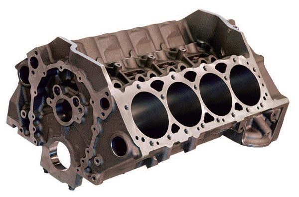 Aftermarket Sportsman cylinder blocks like this Dart SHP block incorporate many of the most desir¬able features of more expensive full-race blocks. These blocks are an excellent choice for many budget-conscious racers seeking affordable alternatives for their racing efforts.